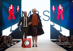 Mark Heyes - Denise Van Outen comperes the opening show of Bristol Fashion Week at The Mall Cribs Causeway -...