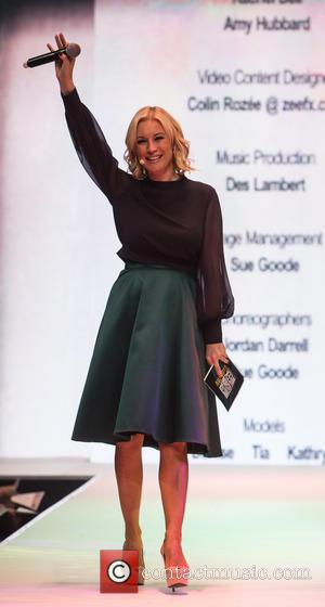 Denise Van Outen - Denise Van Outen comperes the opening show of Bristol Fashion Week at The Mall Cribs Causeway...