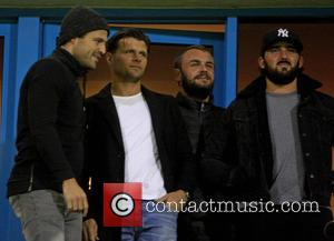 Mark Wright - Mark Wright ex TOWIE star watches his brother Josh playing for Gillingham against Fleetwood. - Gillingham, United...