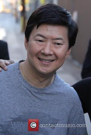 Ken Jeong - Ken Jeong at Universal Studios Hollywood to appear on 'Jimmy Kimmel Live!' at jimmy kimmel - Los...