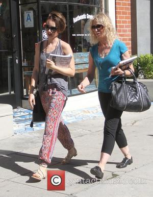 Lily Collins , Jill Tavelman - Lily Collins goes shopping in Beverly Hills with her mother - Los Angeles, California,...