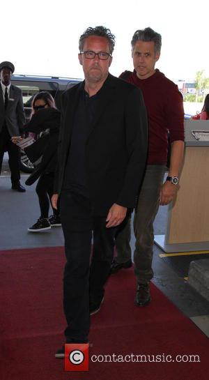 Matthew Perry - Matthew Perry at Los Angeles International Airport - Los Angeles, California, United States - Wednesday 30th September...