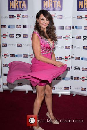 Lizzie Cundy - National Reality TV Awards held at the Porchester Hall - Arrivals. - London, United Kingdom - Wednesday...