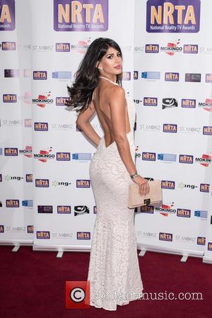 Jasmin Walia - National Reality TV Awards held at the Porchester Hall - Arrivals. - London, United Kingdom - Wednesday...