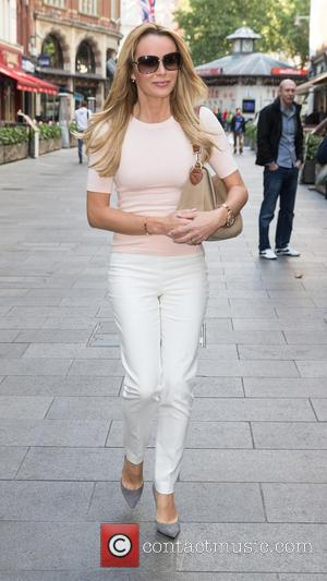 Amanda Holden - Celebrities at Capital Radio studios at Global House, Leicester Square - London, United Kingdom - Wednesday 30th...