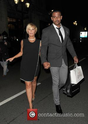 Kerry Katona , George Kay - Celebrities leaving the National Reality TV Awards, held at Porchester Hall - London, United...