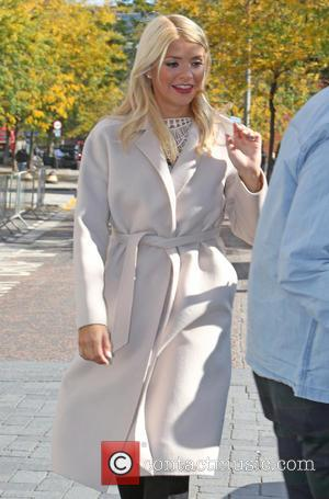 Holly Willoughby , Phillip Schofeild - Holly Willoughby filming outside ITV Studios - London, United Kingdom - Wednesday 30th September...