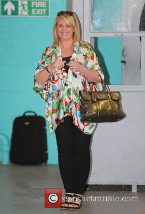 Sally Lindsay - Sally Lindsay outside ITV Studios - London, United Kingdom - Wednesday 30th September 2015