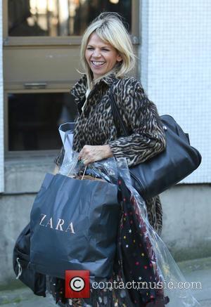 Zoe Ball - Zoe Ball outside the ITV Studios - London, United Kingdom - Wednesday 30th September 2015