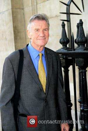 Michael Palin - Michael Palin arrives for Man Booker Prize literary director Ion Trewin's memorial service at St Martin-in-the-Fields Church,...