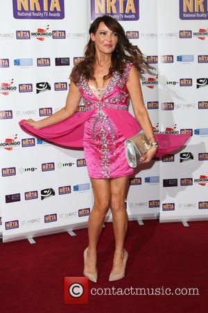 Lizzie Cundy - The National Reality TV Awards (NRTA) 2015 held at the Porchester Hall - Arrivals - London, United...