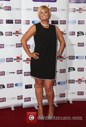 Kerry Katona - The National Reality TV Awards (NRTA) 2015 held at the Porchester Hall - Arrivals - London, United...