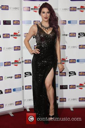 Jasz Vegas - The National Reality TV Awards (NRTA) 2015 held at the Porchester Hall - Arrivals - London, United...
