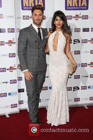 Jasmin Walia , boyfriend Ross Worswick - The National Reality TV Awards (NRTA) 2015 held at the Porchester Hall -...