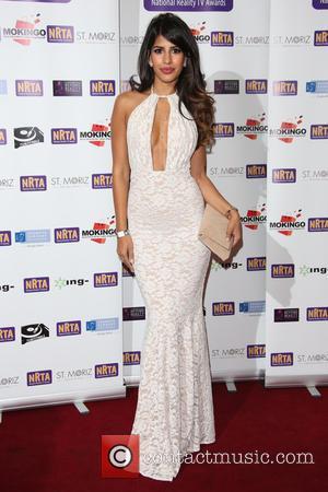Jasmin Walia - The National Reality TV Awards (NRTA) 2015 held at the Porchester Hall - Arrivals - London, United...