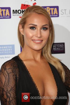 Chloe Goodman - The National Reality TV Awards (NRTA) 2015 held at the Porchester Hall - Arrivals - London, United...
