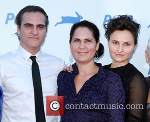 Joaquin Phoenix, Liberty Phoenix , Rain Phoenix - PETA's 35th Anniversary Bash held at the Hollywood Palladium - Arrivals at...
