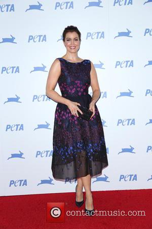 Bellamy Young - PETA's 35th Anniversary Party at Hollywood Palladium - Arrivals - Los Angeles, California, United States - Wednesday...