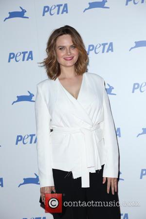 Emily Deschanel - PETA's 35th Anniversary Party at Hollywood Palladium - Arrivals - Los Angeles, California, United States - Wednesday...