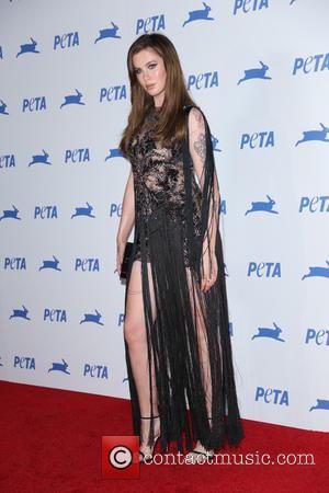 Ireland Baldwin - PETA's 35th Anniversary Party at Hollywood Palladium - Arrivals - Los Angeles, California, United States - Wednesday...