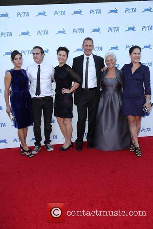 Joaquin Phoenix - PETA's 35th Anniversary Party at Hollywood Palladium - Arrivals - Los Angeles, California, United States - Wednesday...