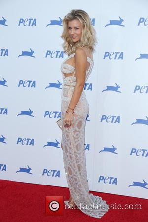 Joanna Krupa - PETA's 35th Anniversary Party at Hollywood Palladium - Arrivals - Los Angeles, California, United States - Wednesday...