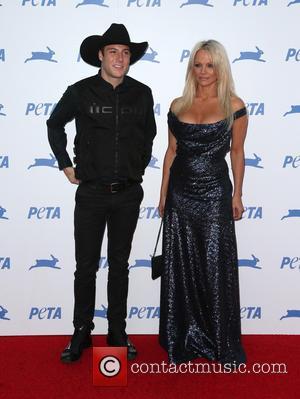 Pamela Anderson and Luke Gilford