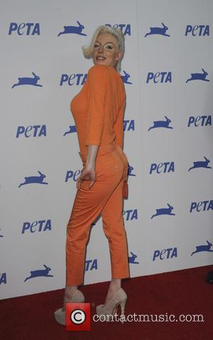 Courtney Stodden - PETA's 35th Anniversary Bash held at the Hollywood Palladium - Arrivals - Los Angeles, California, United States...