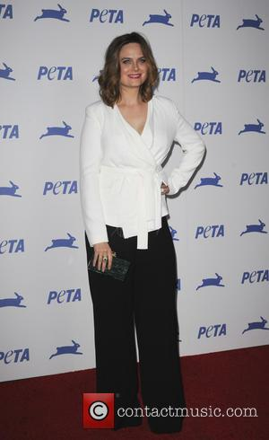 Emily Deschanel - PETA's 35th Anniversary Bash held at the Hollywood Palladium - Arrivals - Los Angeles, California, United States...
