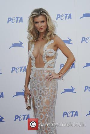 Joanna Krupa - PETA's 35th Anniversary Bash held at the Hollywood Palladium - Arrivals - Los Angeles, California, United States...