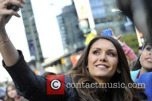 Nina Dobrev - WE Day arrival at Air Canada Centre in Toronto. - Toronto, Canada - Thursday 1st October 2015