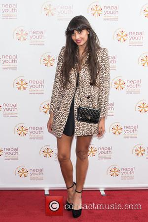 Jameela Jamil - Nepal Youth Foundation UK - VIP fundraiser held at the Banqueting House, Arrivals. - London, United Kingdom...