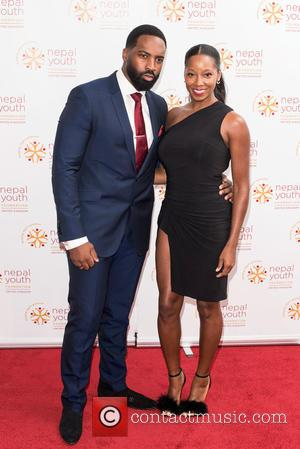 Jamelia , Darren Byfield - Nepal Youth Foundation UK - VIP fundraiser held at the Banqueting House, Arrivals. - London,...