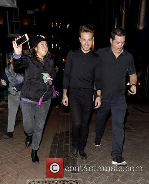 Liam Payne - One Direction stars Liam Payne and Louis Tomlinson leaving Cirque Du Soir Nightclub in London after final...