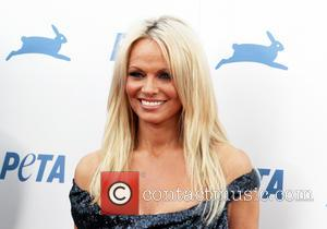 Pamela Anderson - PETA's 35th Anniversary Party at Hollywood Palladium - Hollywood, California, United States - Thursday 1st October 2015