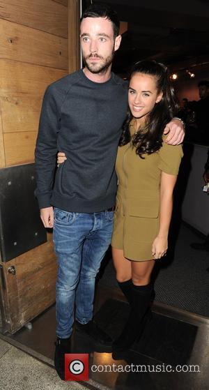 Georgia May Foote , Sean Ward - Belstaff store launch in Manchester - Arrivals - Manchester, United Kingdom - Thursday...