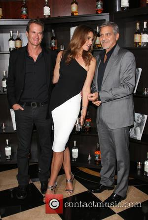 Cindy Crawford, Rande Gerber , George Clooney - Casmigos Tequila London Launch and Cindy Crawford 'Becoming' Book Launch - Arrivals...