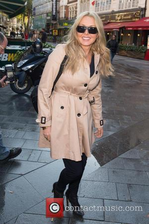 Carol Vorderman - Carol Vorderman leaving Global House at Global House, Leicester Square - London, United Kingdom - Thursday 1st...