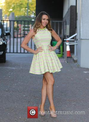 Michelle Heaton - Michelle Heaton outside ITV Studios - London, United Kingdom - Thursday 1st October 2015