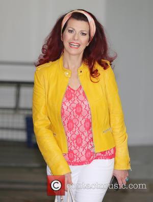 Cleo Rocos - Cleo Rocos outside ITV Studios - London, United Kingdom - Thursday 1st October 2015