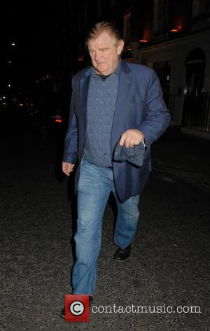 Brendan Gleeson - Brendan Gleeson leaves Il Baretto restaurant - London, United Kingdom - Friday 2nd October 2015