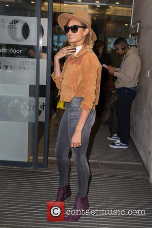 Alesha Dixon - Alesha Dixon pictured arriving at the BBC to perform on the One Show at BBC Portland Place...