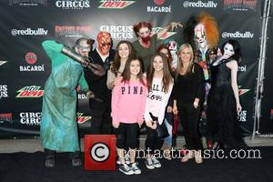 Heather King , Agnes Wilczynski - Fright Dome 13th anniversary black carpet event held at Circus Circus - Las Vegas,...