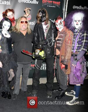 Vince Neil - Fright Dome 13th anniversary black carpet event held at Circus Circus - Las Vegas, Nevada, United States...