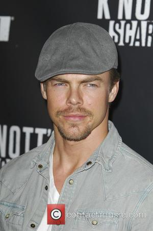 Derek Hough - Knotts Scary Farm Black Carpet - Los Angeles, California, United States - Friday 2nd October 2015