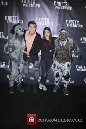 Victoria Justice - Knotts Scary Farm Black Carpet - Los Angeles, California, United States - Friday 2nd October 2015