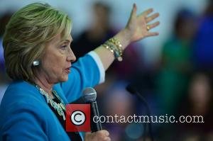 Hillary Clinton - Democratic presidential candidate Hillary Clinton speaks during her campaign stop at the Broward College Hugh Adams Central...