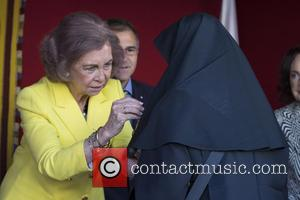 Queen Sofia of Spain - Spanish royals attend the Red Cross Fundraising Day in Madrid - Madrid, Spain - Friday...