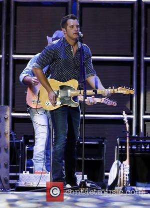 Easton Corbin - Route 91 Harvest country music festival at MGM Resorts Village - Day 1 - Performances at MGM...