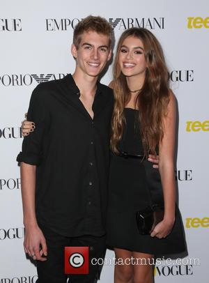 Cindy Crawford's Son Makes Runway Debut With Gigi Hadid's Brother